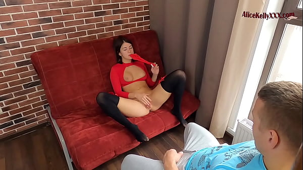 Cute Student Masturbates In Front Of Her Gym Teacher to Get Good Mark Thumb