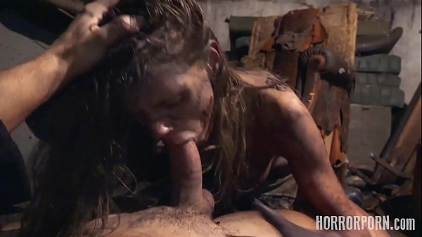 HORRORPORN Girl Twisted In Unnatural Positions