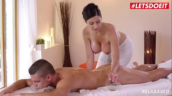 LETSDOEIT - Czech MILF Takes Young Big Cock On Hot Massage Sex (Alex Black & Max Dior) Thumb