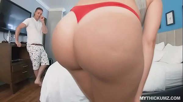 Picking up and fucking PAWG blonde while her bestie films