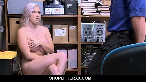 Shoplifting Teen Gets Her Pussy Slammed By LP Officer - Emily Right