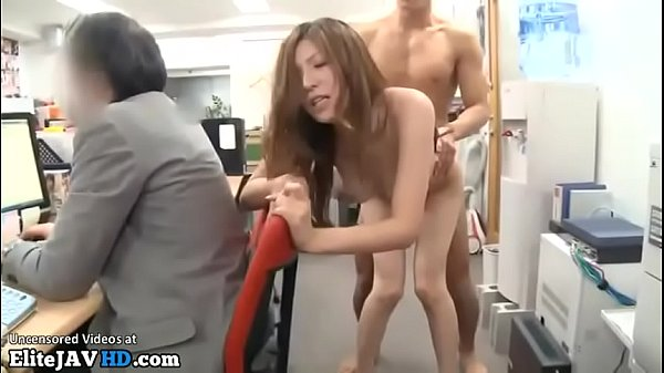 Japanese beautiful secretary fucked in public office Thumb