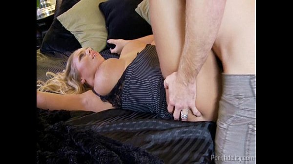 Blonde Supermodel Nicole Aniston Gets Her Tight Hole Fucked Thumb