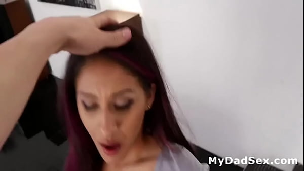 Spanking and Fucking My Hot Step Daughter