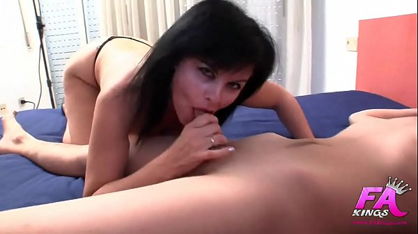 She deflowers her s.'s friend, teaches him to fuck an ass, and… HE CUMS UP TO 4 TIMES!!!