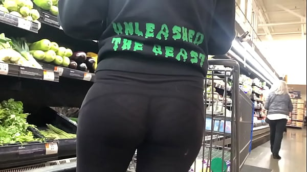 Teen and see-through pants