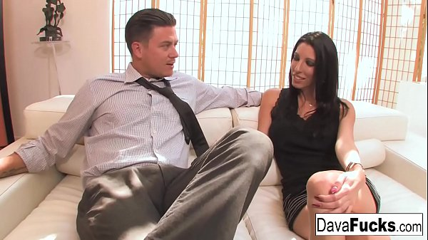 Casting couch with Bradley with a hot creampie