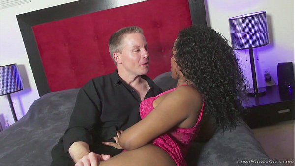 White stud fucks his black girl really hard