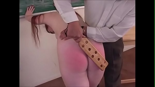 Spanking Roleplay - Hot readhead gets punished during schoolgirl roleplay - JustBangMe.com Thumb