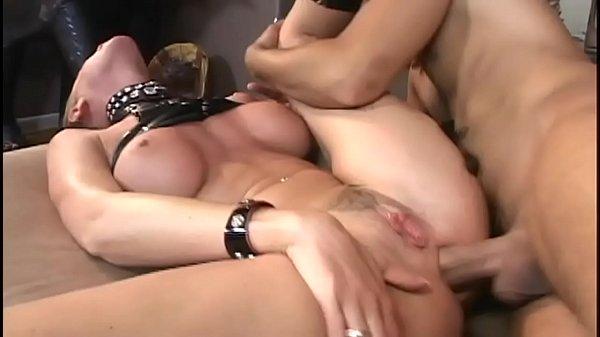 Nicole Sheridan as a slave has anal sex