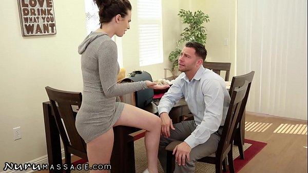 NuruMassage Casey Calvert Asks Her Stepcousin For Help In Exchange Of A Torrid Massage