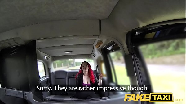 Fake Taxi Sexy redhead with huge tits  thumbnail