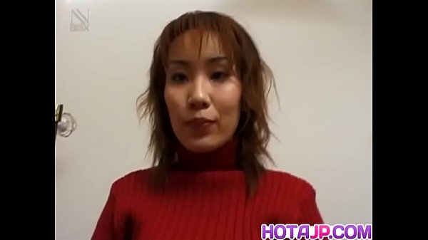 Yuki Yoshida with hairy twat gets cum on face from sucking dicks - More at hotajp.com