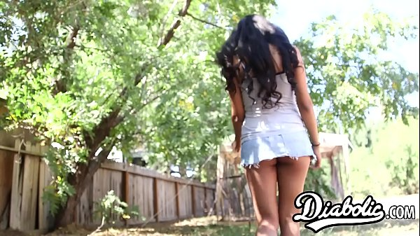 18yo latina Ruby Rayes stuffed with big dick before facial