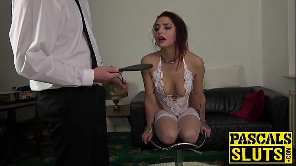 Subslut fucked really hard after being slapped around first Thumb
