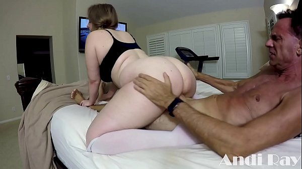 THICK BLONDE PAWG FUCKS AND RIMS MAN WHO COULD BE HER DAD PT. 3