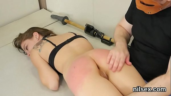 Nasty nympho is taken in anal assylum for harsh treatment