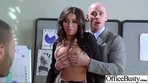 Busty Sexy Worker Girl (stephani moretti) Get Hard Style Banged In Office clip-30