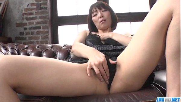 Superb solo by lingerie model Izumi Manaka