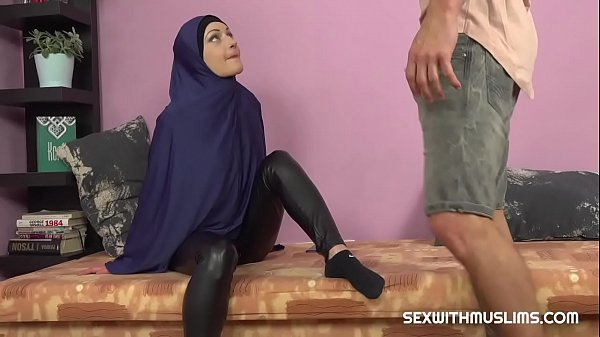 Horny Muslim woman was caught while watching porn Thumb