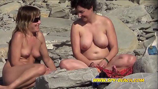 Nude Beach MILFs Amateur Spy Cam Voyeur Video Thumb