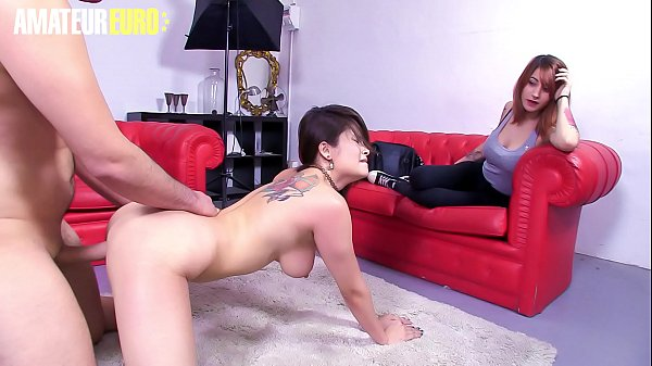 AMATEUR EURO - Naughty Asian Miyuki Son Fucks With Guy While GF Watch Thumb