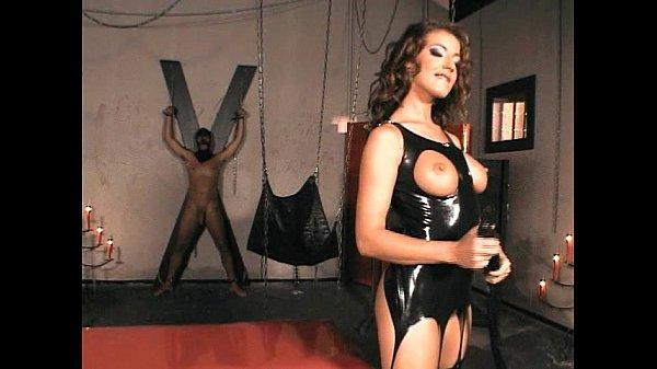 Dominatrix fucking her slave