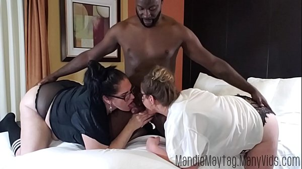 Big Dicked Texan Brings the Meat for a Thick Girl Threesome feat. Luscious Lilli. Thumb