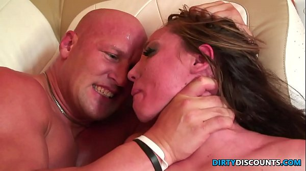Roughfucked milf c. on enormous cock Thumb