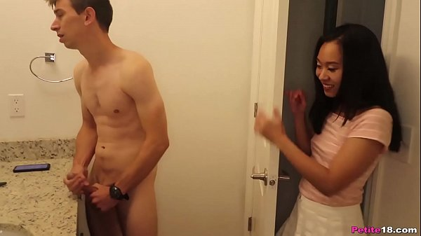 Pocket Sized Asian Got Impaled By his Monster Cock
