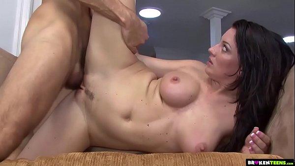 Huge Facial For Sweet Teen Piper Austin