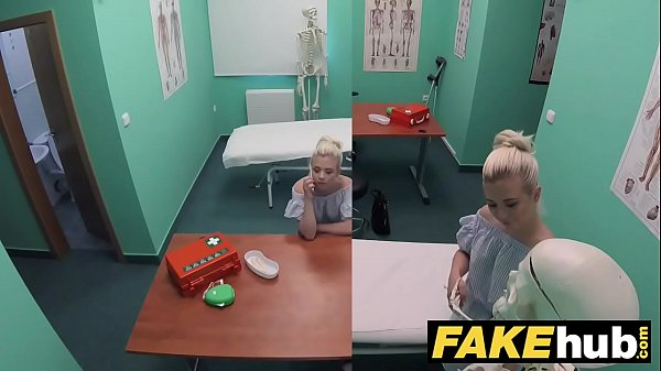 Fake Hospital Horny doctor gets to fuck a freshly shaven petite teen pussy
