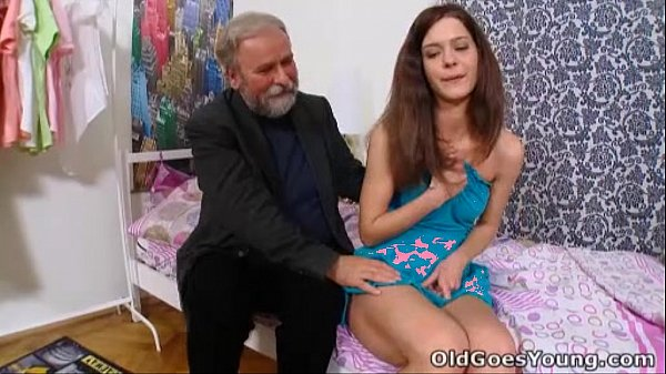 Old Goes Young - Nadya and her man are in the bedroom
