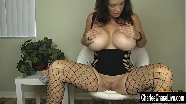 Big Tit MILF Charlee Chase Stuffs Her Pussy Thumb