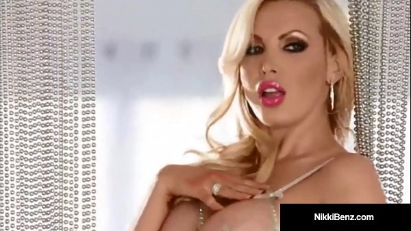 Canadian Star Nikki Benz Strips Teases & Plays w/ Our Minds! Thumb