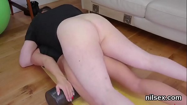 Horny sweetie is brought in anal assylum for painful treatment