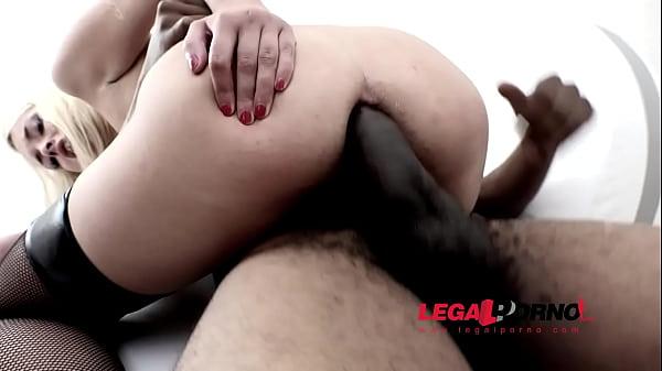 Lindsey Logan & Maria Devine interracial anal with DP & DAP RS138 Thumb