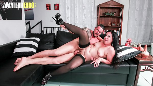 AMATEUR EURO - Amateur MILF Valentina Bianchi Gets Deep Pussy Fucked By Young Cock