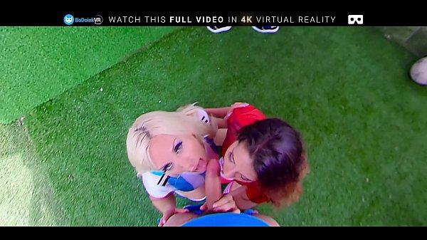 BaDoink VR Celebrating Winning Goal In FFFFM Group ORGY thumbnail