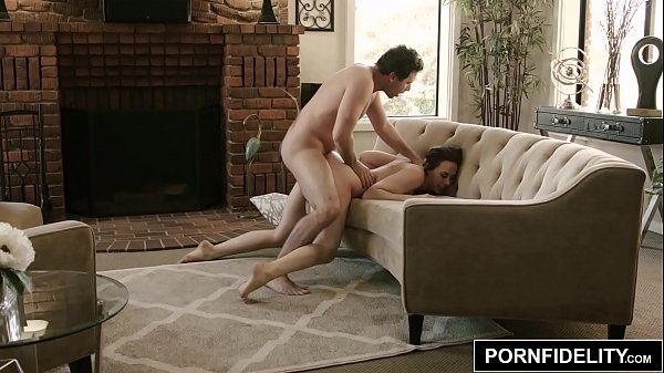 PORNFIDELITY Chanel Preston and James Deen Hardcore Living Room Fuck Thumb