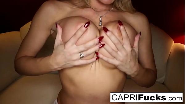 Valentine's day solo with sexy Capri Cavanni