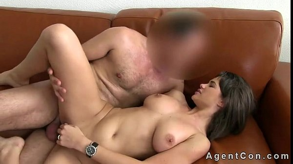 Amateur huge cock cumshot threesome pov