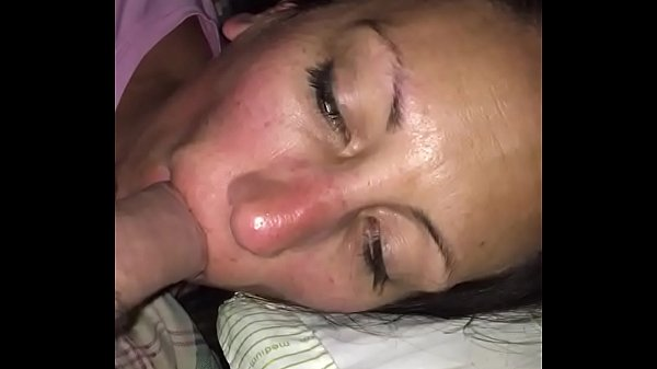 Wife punished with forced deepthroat and choking on my cock slut sucked and creampied by stranger from bar just hours ago Thumb