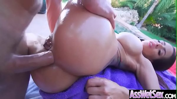 Hard Anal Sex Scene With Oiled Sluty Big Ass Girl (Yurizan Beltran) video-30