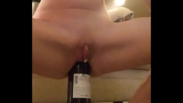 Fucking wine bottle