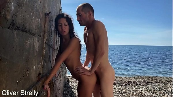 I Fucked My Teen Step Sister Katty West On Public Beach.