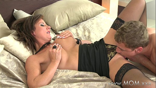 Hot milf getting licked and fucked