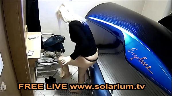 Solarium Blonde Horny Milf Thumb