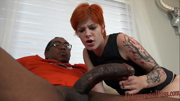 Young redhead Ava Little disgraces daddy by hard interracial Thumb