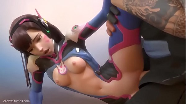 Overwatch D.va gets fucked by Hanzo
